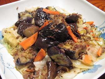 27ナスとレタスの豚肉サラダ.jpg